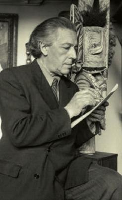 초현실주의 시인 앙드레 브르통
