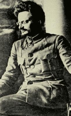 러시아 혁명가 트로츠키