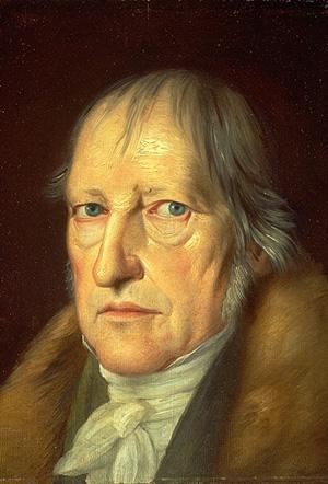 "G.W.F. 헤겔  엥겔스는 사회주의 운동이 헤겔 등 독일 고전 철학을 직접 ""계승""했다고  말했다"