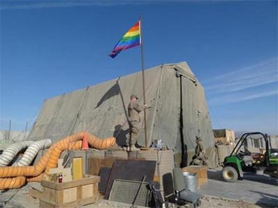 """""""동성애 인권""""을 앞세운 제국주의 전쟁 정당화를 좌시해선 안 된다"""