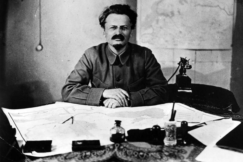 러시아 혁명가 레온 트로츠키
