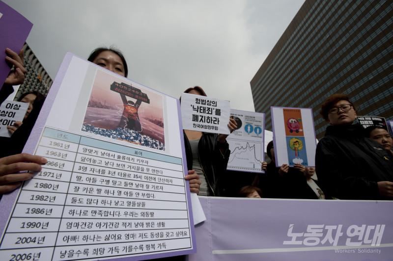 여성의 몸은 국가가 통제하는 출산 기계가 아니다