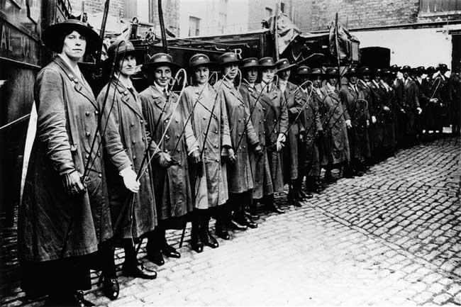 영국의 여성 우편 노동자들