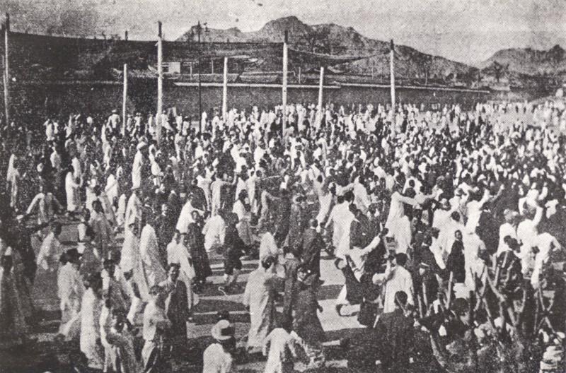 1919년 3·1운동 당시 거리로 나온 사람들