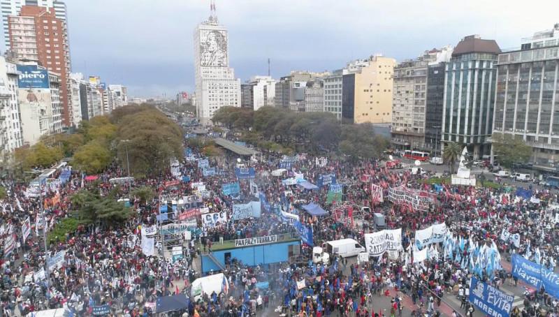 긴축에 맞선 아르헨티나 노동자 투쟁