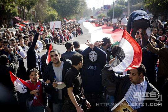 2012년 1월 25일 이집트혁명 1주년 기념 시위
