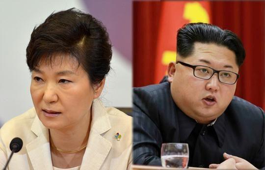 남북의 두 세습 권력자들
